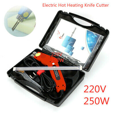 Electric Hot Heating Knife Cutter Tool Sponge Foam Wire Rope Cutting 250W AU