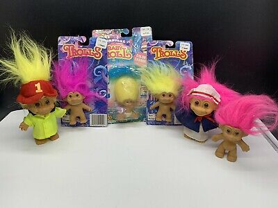 Vintage Trolls Dolls Some New In Packet