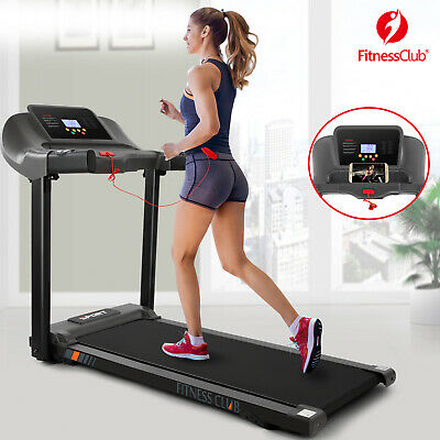 2.5 HP Large Folding Electric Motorized Treadmill Auto Incline Running Machine
