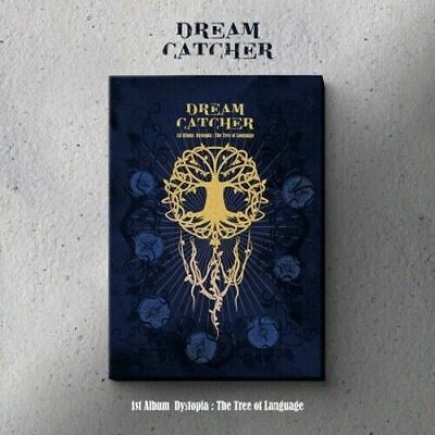 """[DreamCatcher] 1st Album """"Dystopia:The Tree Of Language"""" (L) CD+Book+Card+POSTER"""