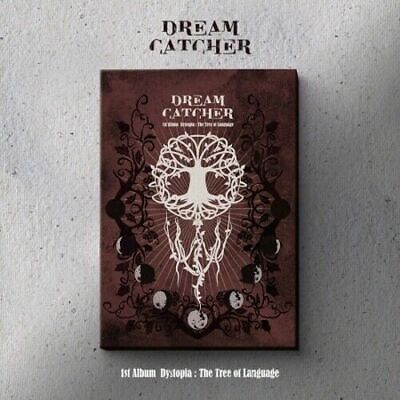 """[DreamCatcher] 1st Album """"Dystopia:The Tree Of Language"""" (I) CD+Book+Card+POSTER"""