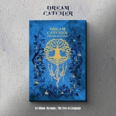 """[DreamCatcher] 1st Album """"Dystopia:The Tree Of Language"""" (V) CD+Book+Card+POSTER"""