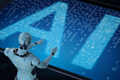 Artificial Intelligence Forex Robot Software AI Concept and language