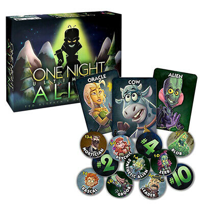 10 Mins Games Bezier Ultimate One Werewolf Game Card Toys Night