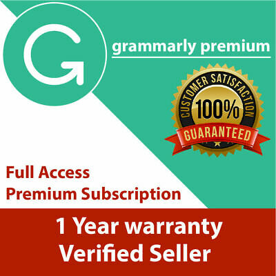 Grammarly Premium  Lifetime account with one year Warranty  INSTANT DELIVERY