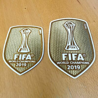 Club World Cup 2019 Champions Badge Patch Liverpool FC  2019-2020