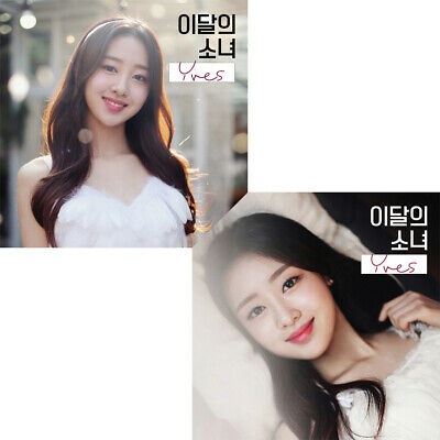 MONTHLY GIRL LOONA [YVES] Single Album CD+Photo Book+Photo Card K-POP SEALED