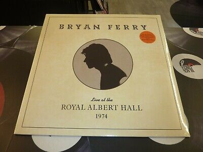 Bryan Ferry (Roxy Music) - Live At The Royal Albert Hall 1974 Lp Mint/Sealed