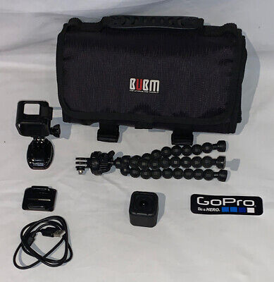GoPro HERO4 Session Camcorder - Black And Accessories