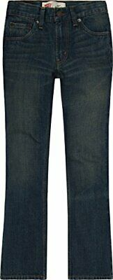 Levi's Boys 527 Bootcut Jeans, Rusted Rigid, 12, Rusted Rigid, Size 12 Husky US