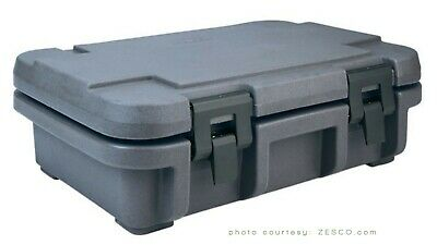 Cambro Granite Grey Durable Food Pan Carrier Insulated Top Load Latches catering