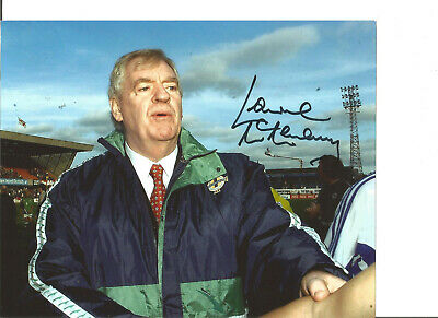 Football Autograph Lawrie McMenemy Northern Ireland Signed 10x8 in Photo JM293