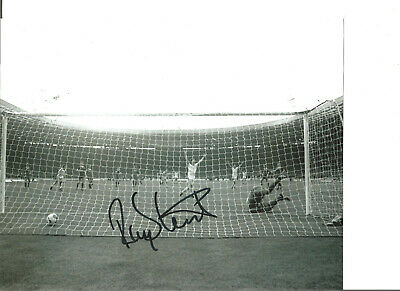 Football Autograph Ray Stewart West Ham United Signed 10x8 inch Photograph JM244