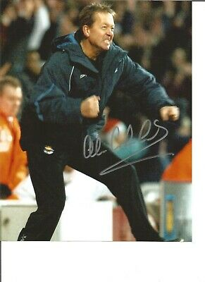 Football Autograph Alan Curbishley Charlton Athletic Signed 10x8 Photograph JM5