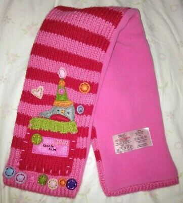 Next Girl's Pink/red Scarf Age 3-6 Months Mois