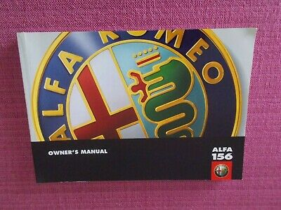 Alfa Romeo 147 2002-2005 340 Page Owners manual Hand Book 60431309 New Genuine