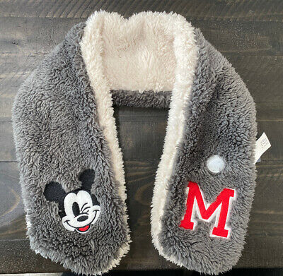 BabyGap Disney Mickey Mouse Sherpa Scarf Baby Toddler One Size