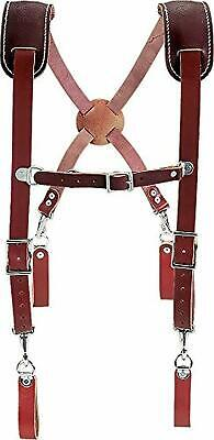 Occidental Leather 5009 Leather Work Suspenders Comfortable Thick Straps
