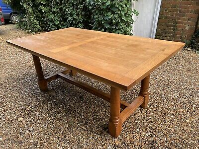 Antique Solid Oak 6ft X 3,6ft Dining Table  . Delivery Available Most Uk Area