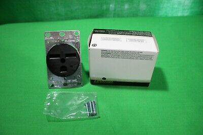 Leviton 061-05372-000 Power Receptacle 30 Amp 250 Volt Flush Mount New