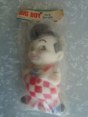 """Big Boy Toy Bank 10"""" Factory Sealed Rubber"""