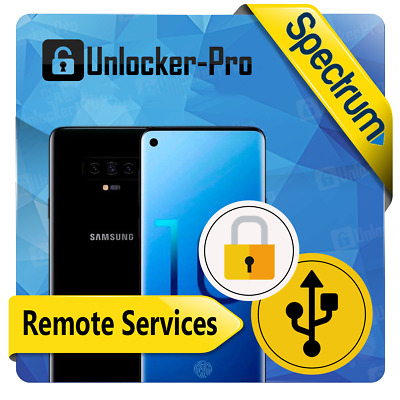 Instant Remote Unlock Spectrum Samsung Galaxy S10 S10+ S10e Android 10