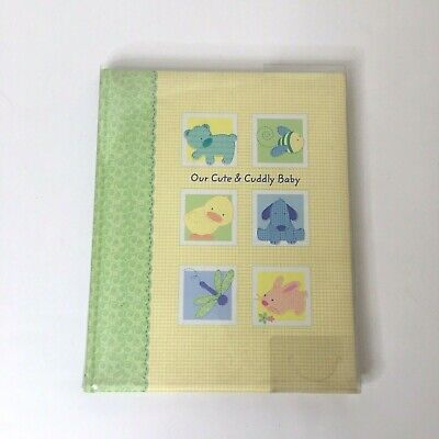Tykes by Carter's Our Cute & Cuddly Baby Memory Keepsake Book Birth to 5 Years