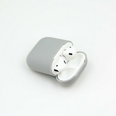New Soft Silicone Protective Skin Cover for Apple AirPods I & II Charging Case