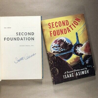 Second Foundation by Isaac Asimov (Signed, Book Club, Hardcover in Jacket)