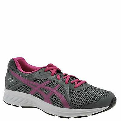 Kids Asics Girls ASICS Jolt 2 GS Low Top Lace Up, Grey,  Size Big Kid 7.0