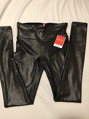 Spanx Faux Leather Legging Size S BNWT
