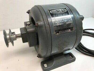 GE 5KCP39PGC138AT//3132 1//2HP ELECTRIC MOTOR 208-230 VOLT//1075 RPM SINGLE SHAFT