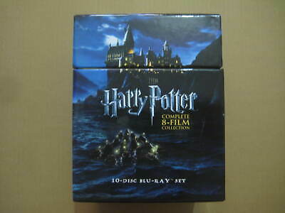 HARRY POTTER Complete 8 Film Collection AUSSIE 10 x BLU-RAY BOX SET - NEAR MINT