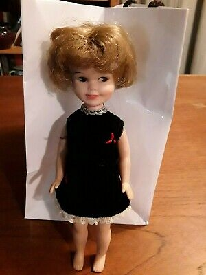 Penny Brite Vtg Doll. 8 1/2 Inch, Deluxe Reading Corp. Excellent. With Dress