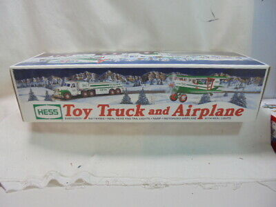 2002 HESS Toy Truck and Airplane In box
