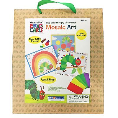 VERY HUNGRY CATERPILLAR MOSAIC BOARDS ACTIVITY SET - Set of 3 **NEW**