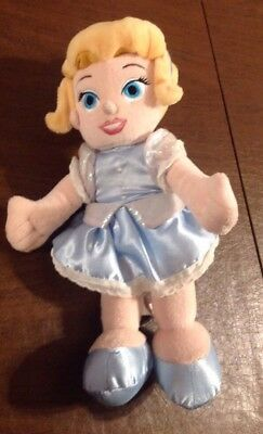 Disney Princess Little Cinderella Plush Doll Fairy Tales Theme Parks Princess