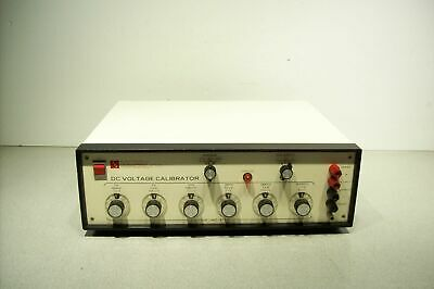 EDC Electronic Development Corp DC Voltage Calibrator MV106 Series H