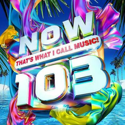 NOW THAT'S WHAT I CALL MUSIC 103  (2 x CD Album) New and Sealed