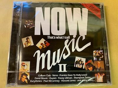 NOW THAT'S WHAT I CALL MUSIC II  (2 x CD Album) New and Sealed
