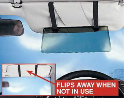 Sun Visor Extension Shade Tinted Anti Dazzle Glare Reducer Ideal For Low Sun