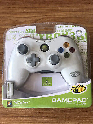 XBOX 360 USB WIRED White Game Pad Control Gamepad MadCatz Brand New Sealed