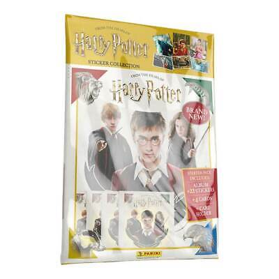 Panini Harry Potter Saga Hybrid Sticker / Trading Card Collection - Starter Pack