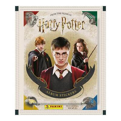 Panini Harry Potter Saga Hybrid Sticker / Trading Card Collection - Single Pack