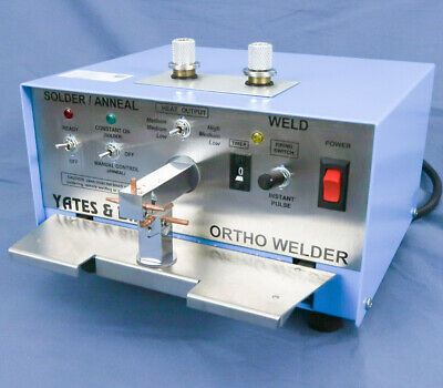 Dental Lab Ortho Welder - USA Made by Yates Bird Motloid  - No Leads/Foot Pedal