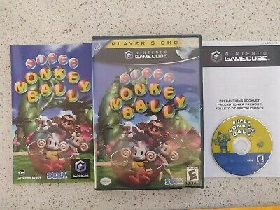 Super Monkey Ball GameCube COMPLETE TESTED WORK!!