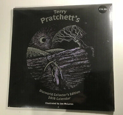 Terry Pratchett Discworld Collectors Edition 2016 Calendar New Sealed