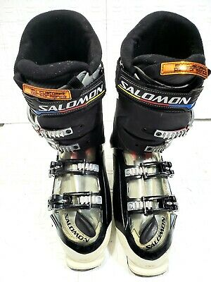 Salomon Quest Access R80 Alpine Ski Boots BlackGreen Size: 29.5 Check Back Soon