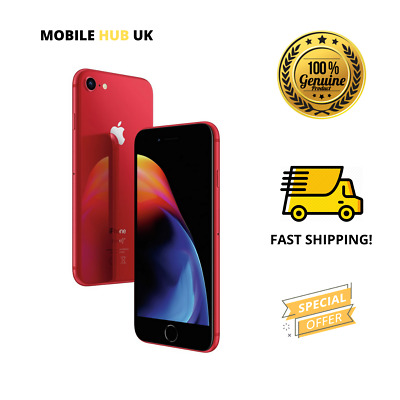 Apple iPhone 8 - 64GB - RED Edition (Unlocked) SIM- FREE Fast Dispatch