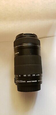 Canon EF-S 55-250mm F/4-5.6 IS Telephoto Zoom Lens for EOS DSLR Camera